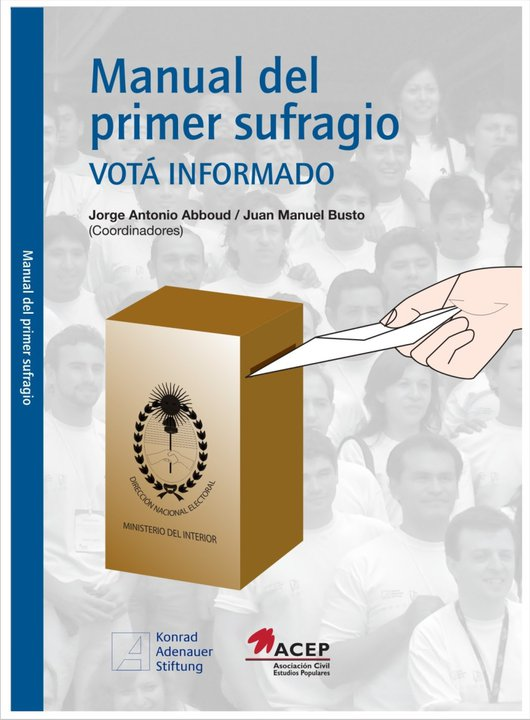 Manual del primer sufragio