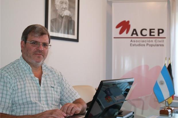 Director del Instituto de Políticas Socioambientales de ACEP, Mauricio Lisa