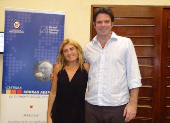 Adriana Sirito y Federico Cook (ACEP Argentina)