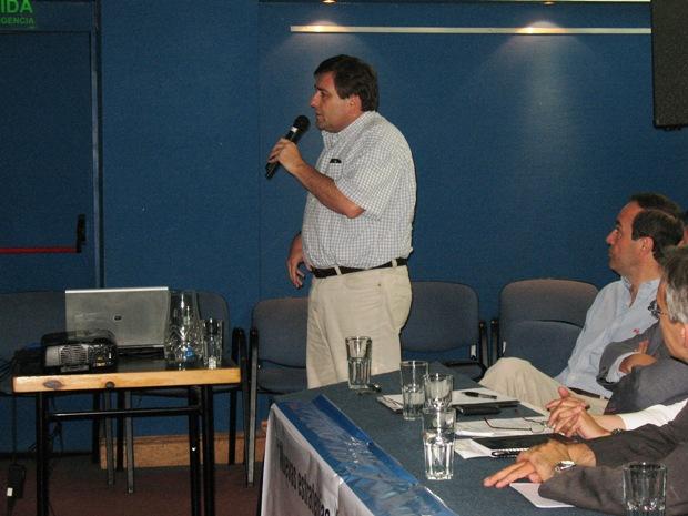 Presidente de ACEP, Oscar Ensinck