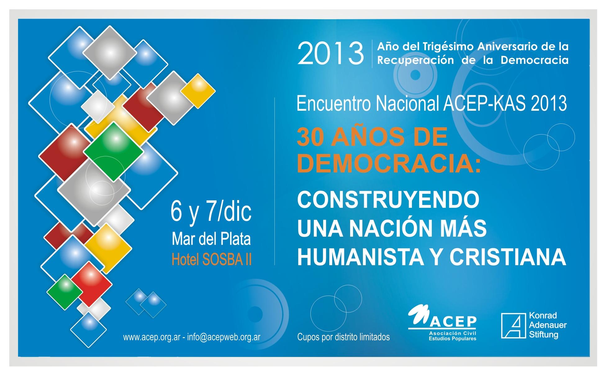 Encuentro Nacional ACEP KAS 2013